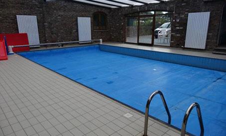 Location de piscine privée à Gozée